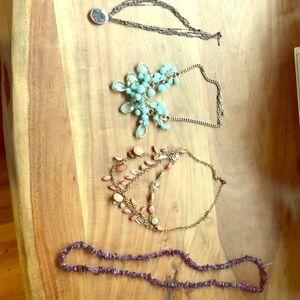 4 Necklaces